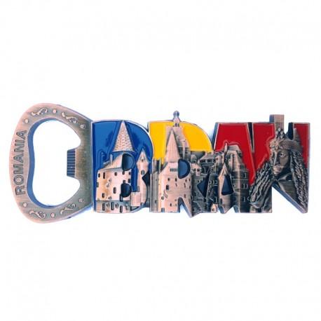 Magnet desfacator sticle - Castelul Bran