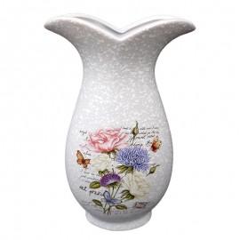 Vaza gura larga - model floral