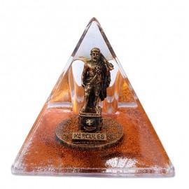 Piramida plastic cu sclipici- Hercules