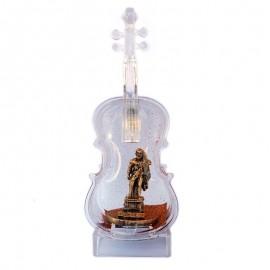 Vioara plastic cu sclipici - Hercules