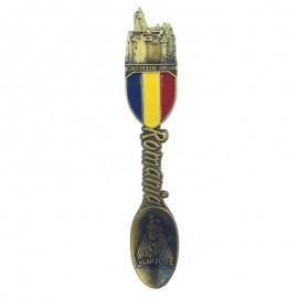 Magnet metalic lingurita - Castelul Bran