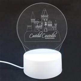 Veioza USB - Castelul Corvinilor
