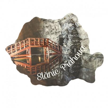 Magnet harta - Slanic Prahova