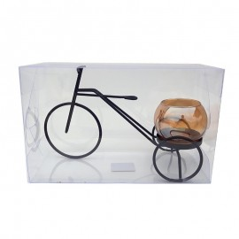 Suport lumanare - tricicleta