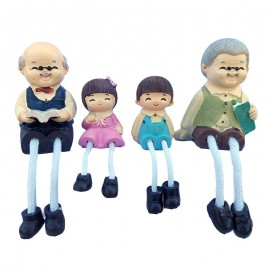 Set 4 figurine rasina