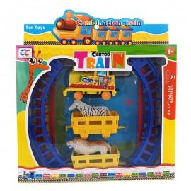Trenulet cu animale