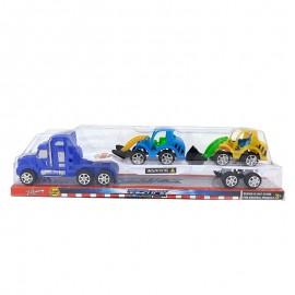 Camion cu 2 vehicule