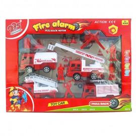 Set echipa de pompieri