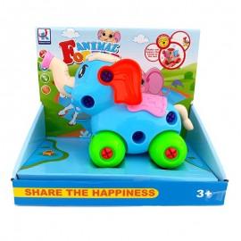 Elefant cu roti