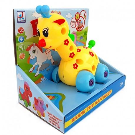 Girafa cu roti