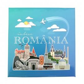 Set carnet cu pix - Romania
