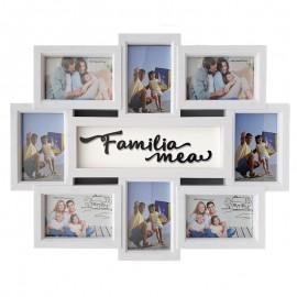 Rama colaj 8 fotografii – Familia mea
