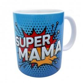 Cana ceramica - super mama