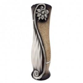 Vaza ceramica cu flori (60 cm)