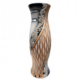 Vaza ceramica - cristale si oglinzi (50 cm)