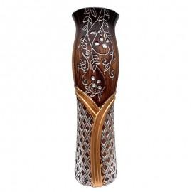 Vaza - model geometric si flori (60 cm)