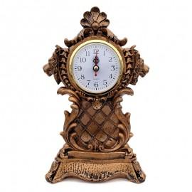 Decoratiune rasina cu ceas