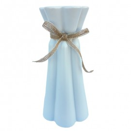 Vaza cu striatii si funda (19 cm)
