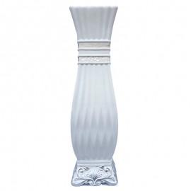 Vaza ceramica cu dungi (60 cm)
