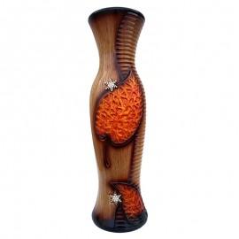 Vaza ceramica cu frunze mari (60 cm)