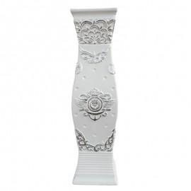 Vaza patrata - flori (60 cm)