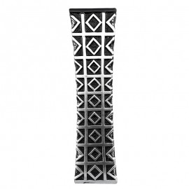 Vaza neagra - model geometric (60 cm)