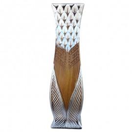 Vaza ceramica sculptata (60 cm)