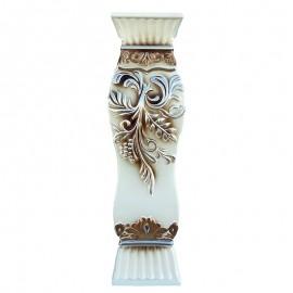 Vaza cu flori si cristale (60 cm)