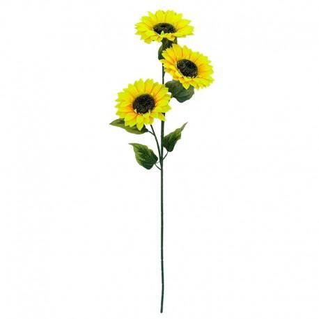 Floarea soarelui decorativa - fir 3 flori