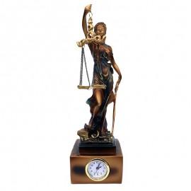 Zeita Justitiei cu ceas