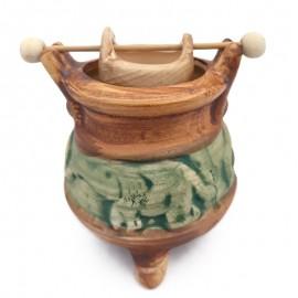 Candela ceramica cu bol