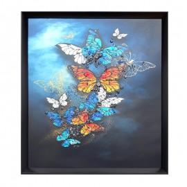 Tablou cu fluturi (50 cm)