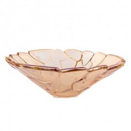 Fructiera sticla - frunze (30 cm)