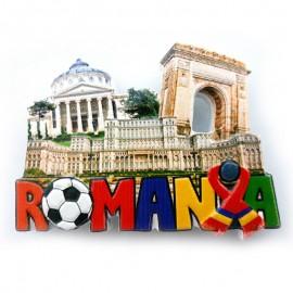 Magnet fotbal - Romania