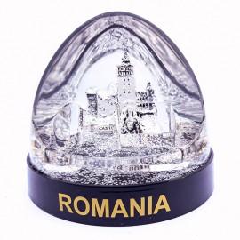 Glob plastic - Castelul Bran