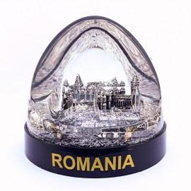 Glob plastic - Castelul Corvinilor