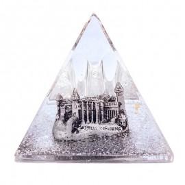 Piramida plastic - Castelul Corvinilor