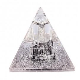 Piramida plastic - Palatul Parlamentului