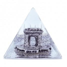 Piramida plastic - Arcul de Triumf