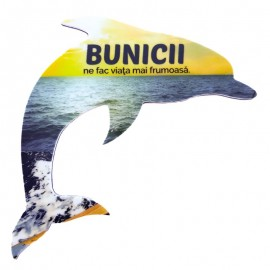 Magnet delfin - bunici