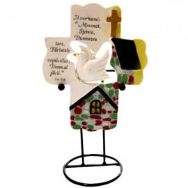 Cruce Porumbel si text