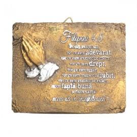 Aplica maini in rugaciune - Filipeni 4:8