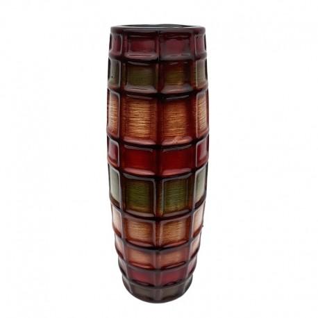 Vaza multicolora - patratele (30 cm)