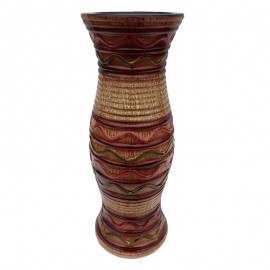 Vaza multicolora - dungi (30 cm)