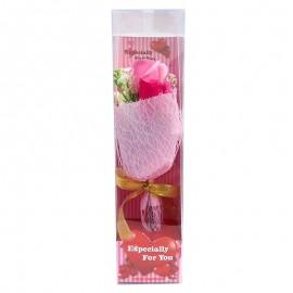 Buchet 3 trandafiri sapun