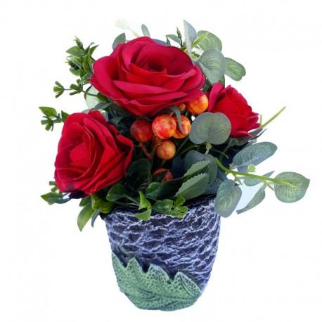 Trandafiri in ghiveci