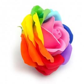 Trandafiri multicolori din sapun