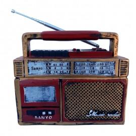 Decoratiune rasina - radio