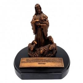 Statueta Isus Pastorul