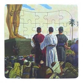 Puzzle biblic - Daniel (14x14 cm)